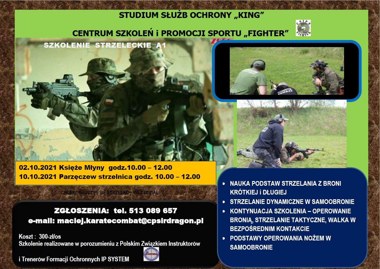 Szkolenie strzeleckie A1